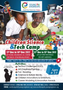 Young engineers children's camp